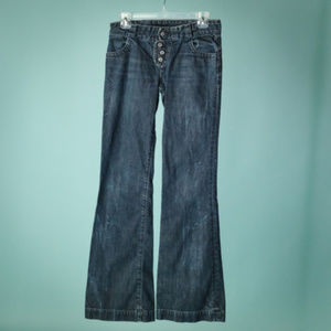 COH 26 Button Fly Flare Jeans